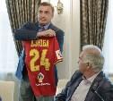 Губернатор Алексей Дюмин подвел итоги сезона тульского «Арсенала»