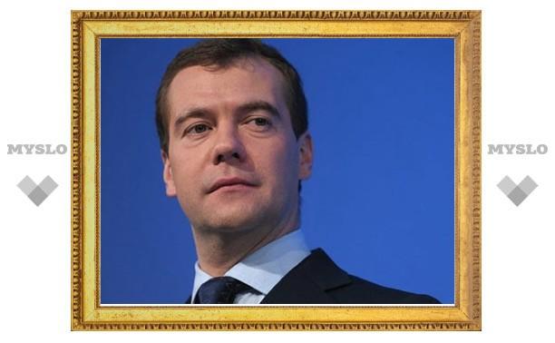 "Дмитрий Медведев избран председателем партии ""Единая Россия"""