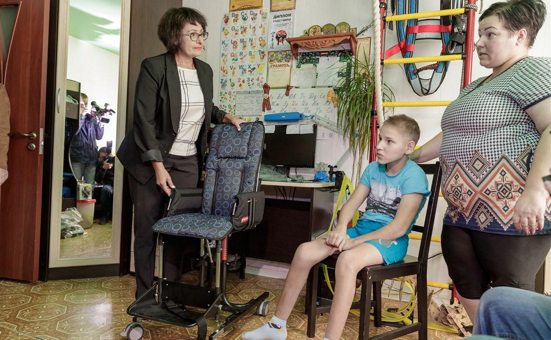 Для тульских детей-инвалидов закупили средства реабилитации