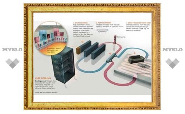 Представлен суперкомпьютер с охлаждением на горячей воде