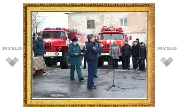 В Заокском под Тулой появилась современная пожарная часть