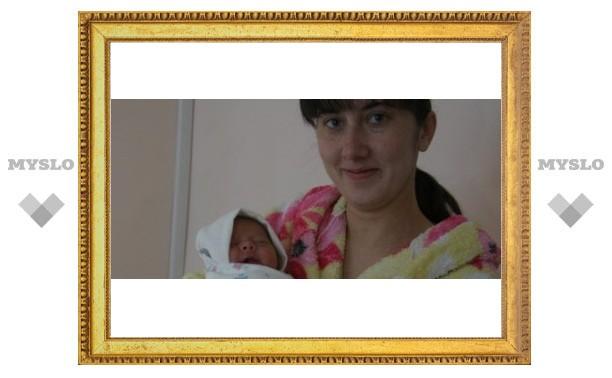 Первую новорожденную тулячку назвали Ангелиной