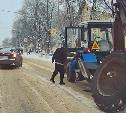 В Донском у трактора на ходу отвалилось колесо