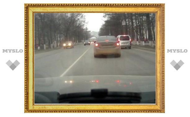 Тульские дороги похожи на экстремальные трассы