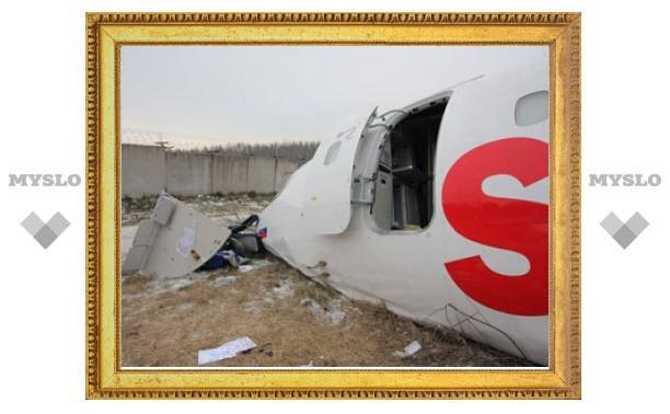 Дагестанский Ту-154 аварийно сел из-за зеленых лампочек