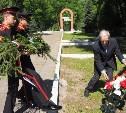 В Туле появилась стела в честь старшего лейтенанта Василия Бенцеля