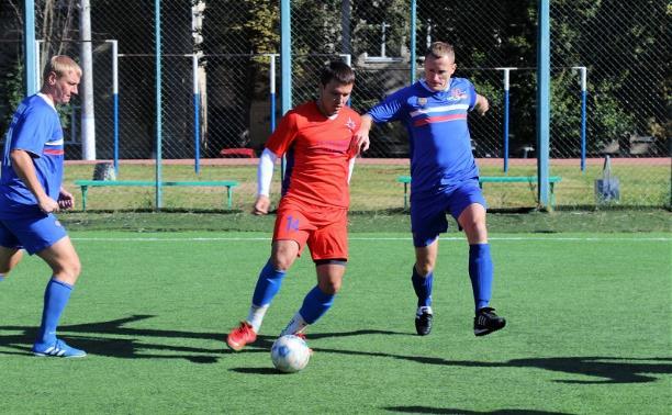 Тульские силовики сыграли в футбол: фоторепортаж