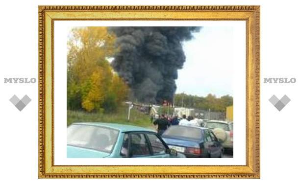 Под Тулой взорвался бензовоз