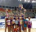 Новомосковская «Виктория» успешно выступила на соревнованиях по спортивной аэробике в Сочи