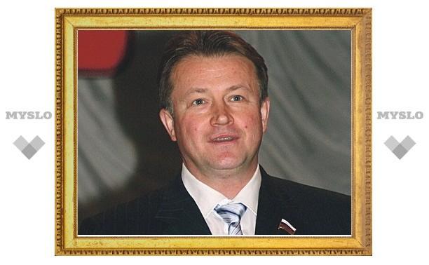 У Вячеслава Дудки родился сын