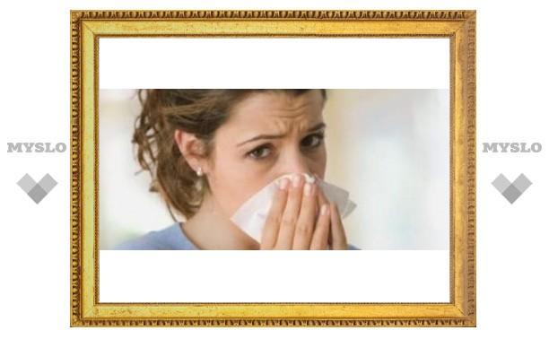 В Туле началась эпидемия гриппа