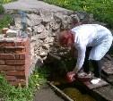 В колодцах и родниках тульского Заречья проверяют безопасность воды