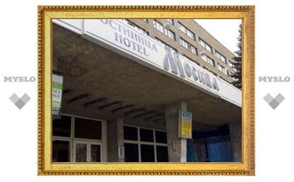 """В тульской гостинице """"Москва"""" произошел пожар"""
