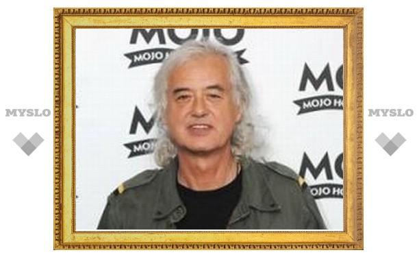 """Джимми Пейдж запишет """"радикальный"""" сольный альбом"""
