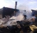 В Заокском районе в пожаре погибли беременная женщина и 5-летний ребёнок