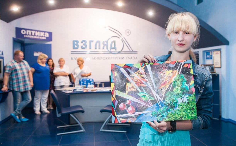 В тульской клинике «ВЗГЛЯД®» прошло награждение призеров конкурса «Детский взгляд в космос»
