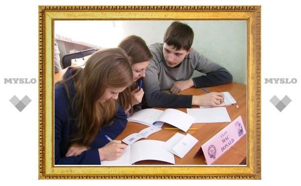 Преподаватель из Шотландии пообщалась с тульскими школьниками