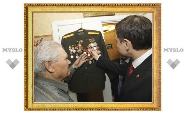 Губернатор встретился с ограбленным ветераном