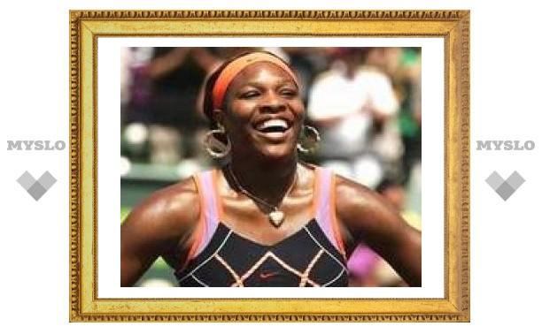 Серена Уильямс выиграла супертурнир в Майами