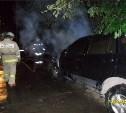 Ночью в Тульской области сгорели три машины
