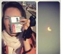 Тысячи туляков наблюдали за солнечным затмением