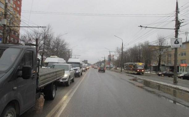 На проспекте Ленина водитель «Дэу» сбил пешехода