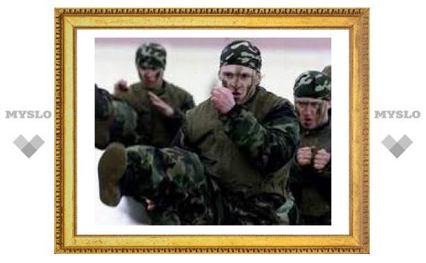 Тульских детдомовцев готовят к службе в спецназе