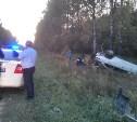 Под Тулой водитель Opel устроил ДТП с «перевертышем» и скрылся