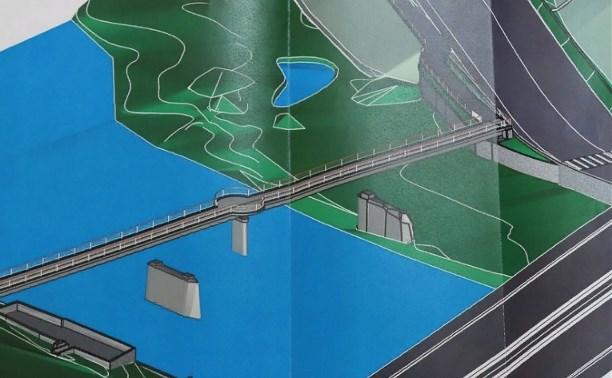 Новый пешеходный мост соединит две тульские набережные