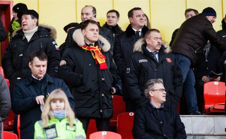 Владимир Груздев поздравил «Арсенал» с победой над «Спартаком»