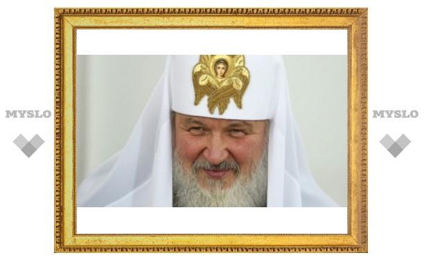 Патриарх Кирилл прибыл на Куликово поле
