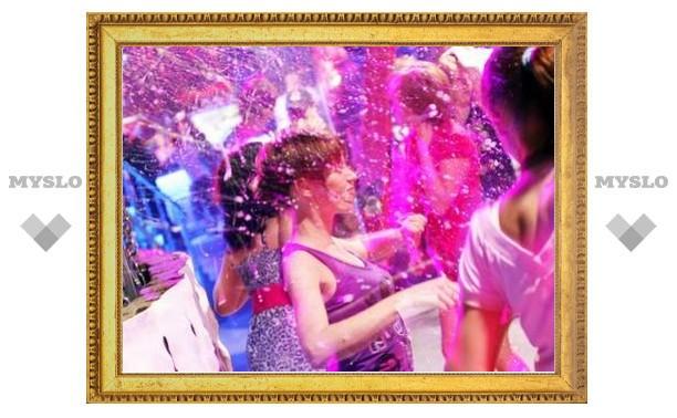 В клубе Studio49 отметили Новый год