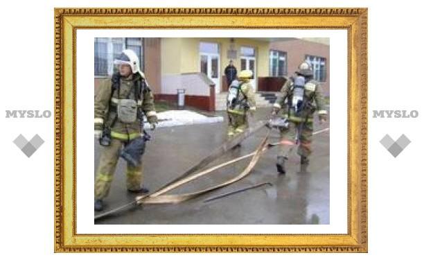 Пожар в школе-интернате