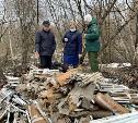 Под Кимовском обнаружена огромная свалка ртутных ламп