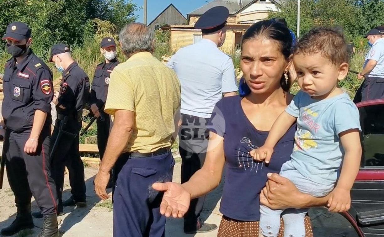 В Плехановском таборе сносят дома: репортаж