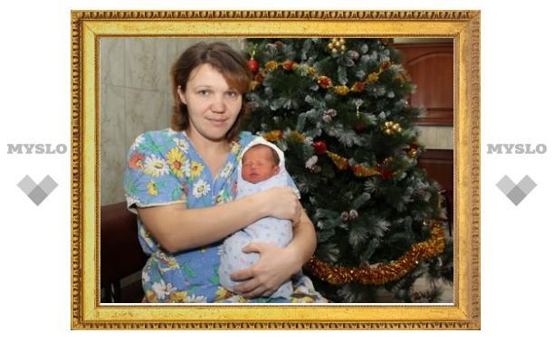 Первый ребенок нового года в Туле – мальчик!