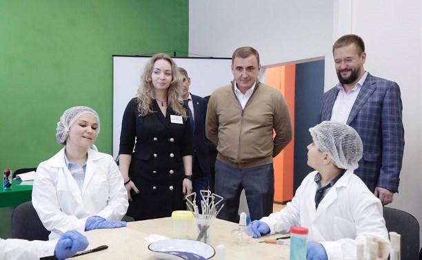 Алексей Дюмин с рабочим визитом посетил Узловский район