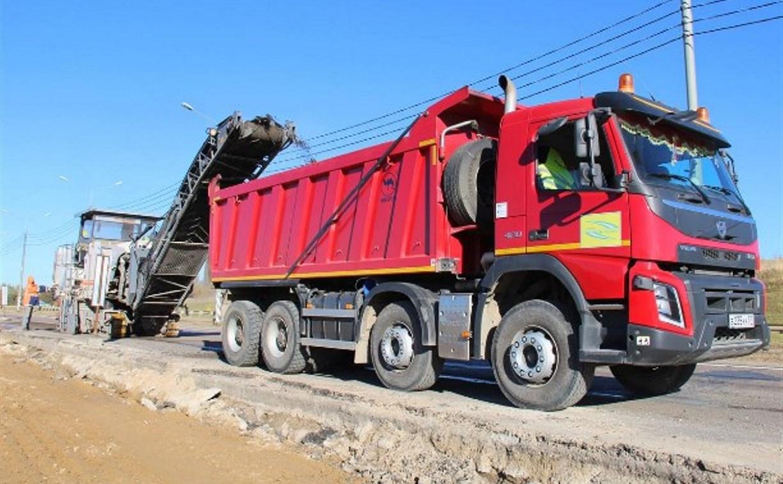 Капремонт участка автодороги М-2 «Крым» в Тульской области выполнен на 60%