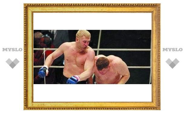 Сергей Харитонов готовится к супербою