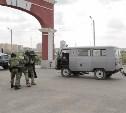 В тульском Суворовском училище спецназ ликвидировал «террористов»: фоторепортаж