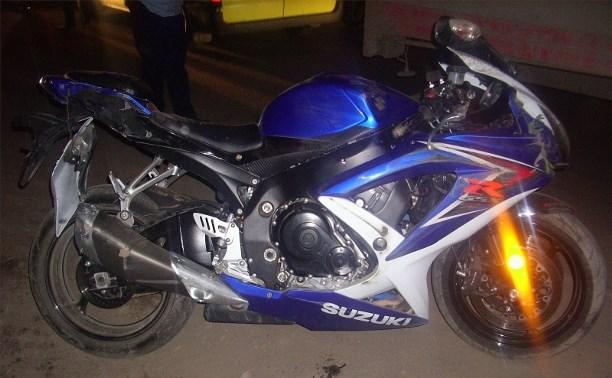 В авариях в Тульской области пострадали мотоциклист и велосипедист