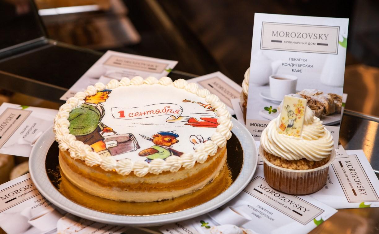 День знаний в Туле: Кулинарный дом MOROZOVSKY принимает заказы на торты в стиле ретро-открыток
