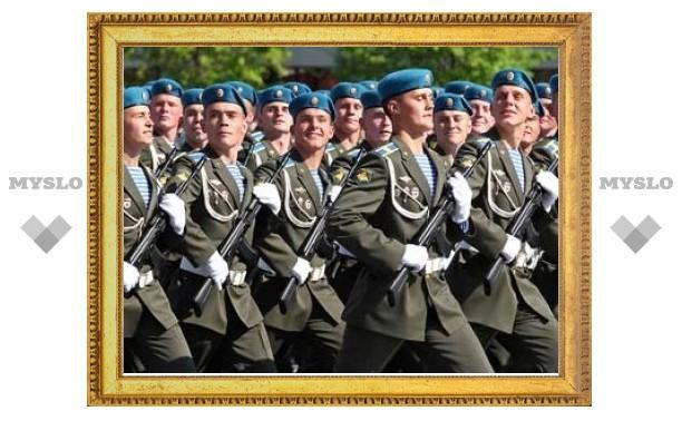 Российские солдаты пройдут парадом по Крещатику