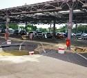 На парковке «Зельгроса» в Туле образовались огромные провалы