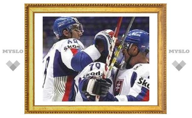 Словакия обыграла Норвегию на чемпионате мира по хоккею