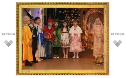 «Рождественская ночь» в тульском детском саду