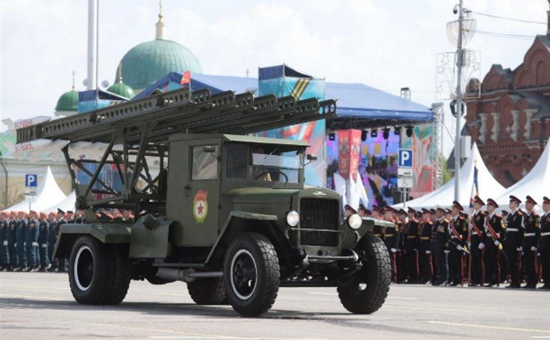 В Туле начали подготовку к военному параду. Он пройдет 24 июня