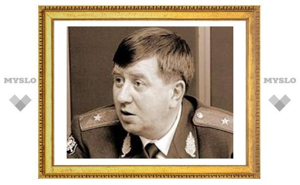 Главой тульской милиции станет генерал из Пскова