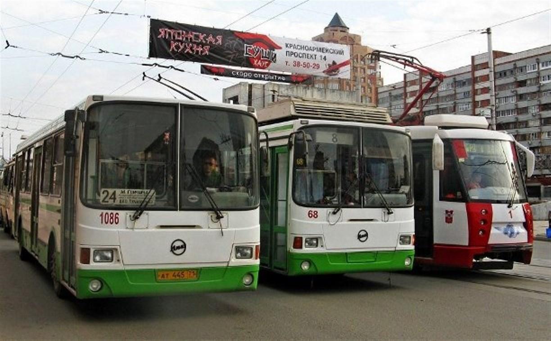 Движение трамваев и троллейбусов в Туле восстановлено