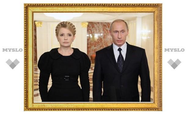 Тимошенко попросила Путина помочь с лекарствами от гриппа